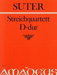 String Quartet D major op. 1