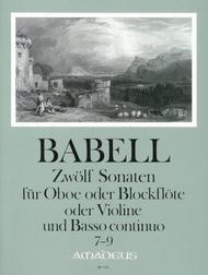 12 Sonatas Vol. 3