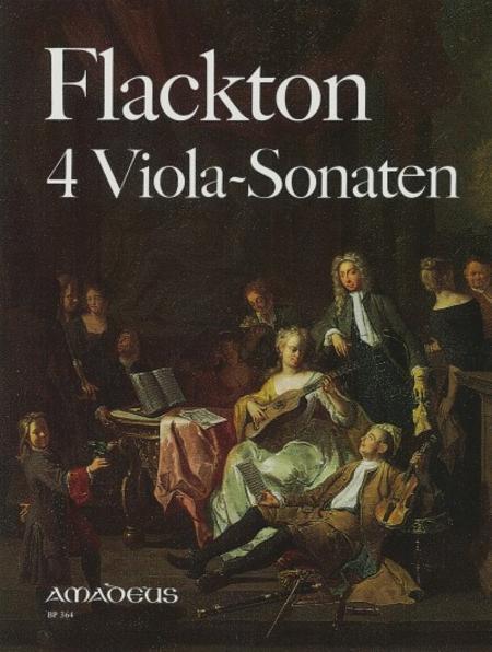 4 Viola Sonatas Op. 2