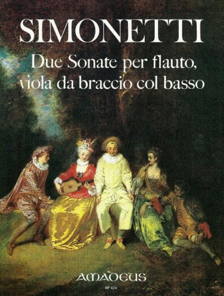 Due Sonate A Tre