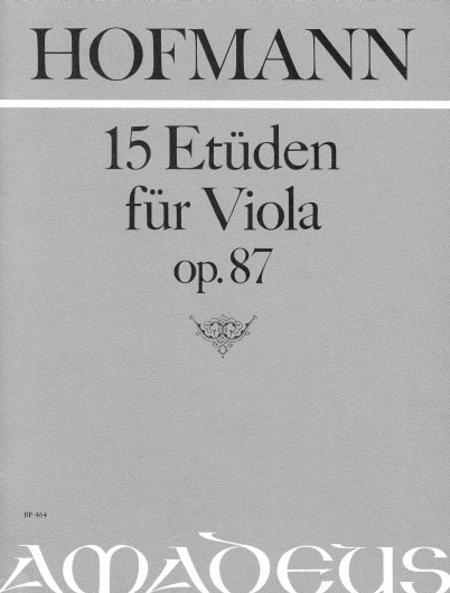 15 Etudes op. 87