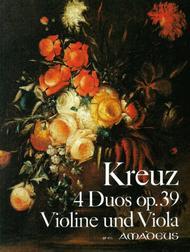 4 Duos op. 39