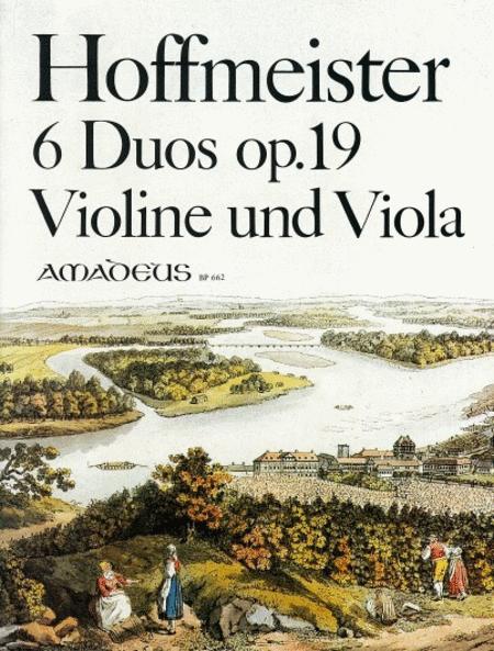 6 Duos Op. 19