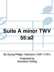 Suite A minor TWV 55:a2