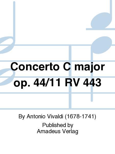 Concerto C major op. 44/11 RV 443