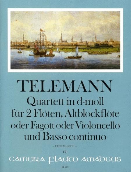 Quartet D minor TWV 43:d1
