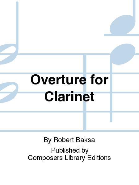 Overture For Clarinet