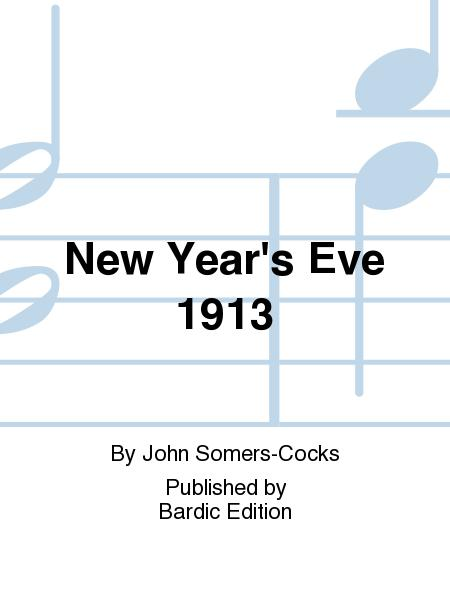 New Year's Eve 1913
