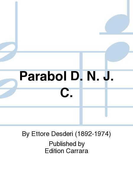 Parabolae D.N.J.C.