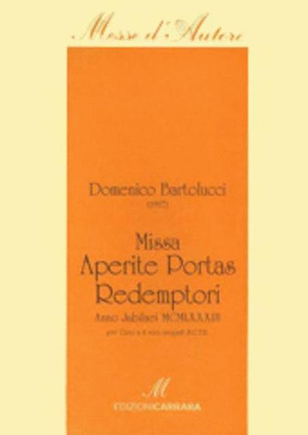 Missa Aperite Portas Redemptoris