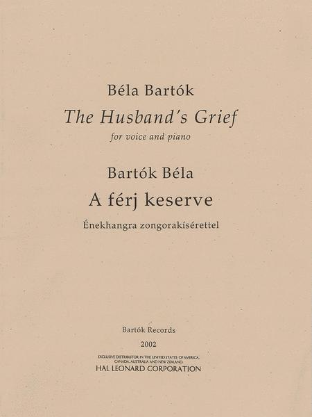 The Husband's Grief (A ferj keserve)