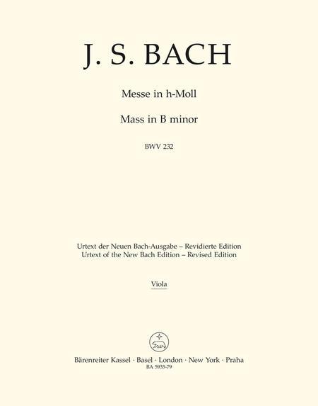 Mass in b minor, BWV 232