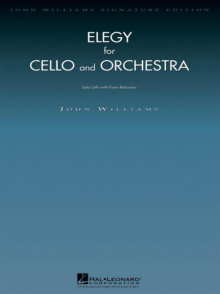 Elegy for Cello and Orchestra