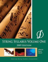 String Syllabus, Volume 1