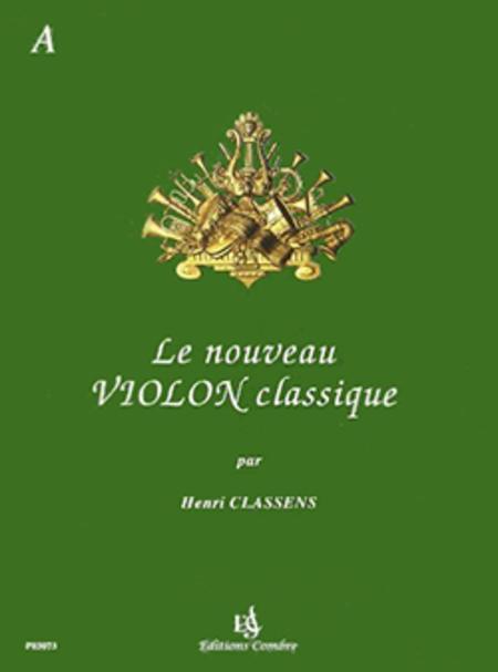 Nouveau violon classique - Volume A