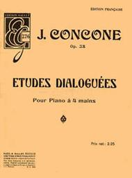 Etudes dialoguees Op. 38