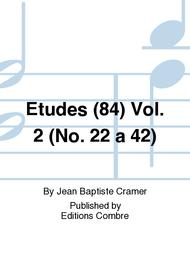 Etudes (84) - Volume 2 (No. 22 a 42)