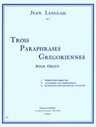 Paraphrases gregoriennes (3) Op. 5