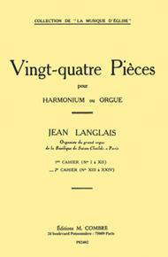 Pieces (24) cahier No. 2 (13 a 24)