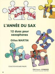 L'Annee du sax (12 duos)
