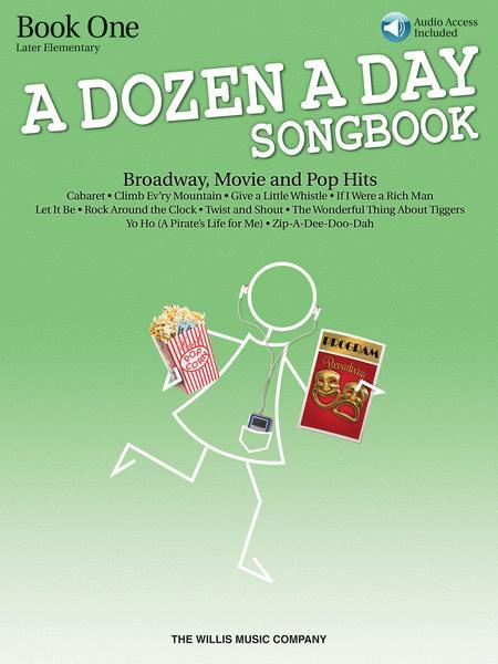 A Dozen a Day Songbook - Book 1