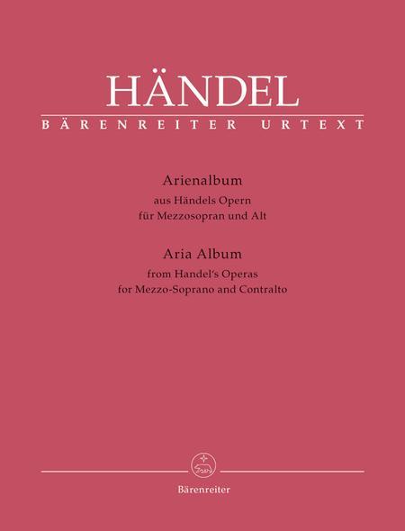 Arienalbum aus Handels Opern fur Mezzosopran und Alt