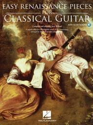 Easy Renaissance Pieces for Classical Guitar