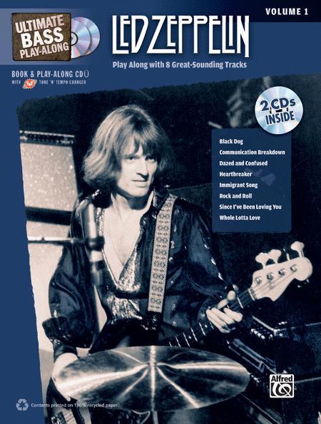 Ultimate Bass Play-Along Led Zeppelin, Volume 1