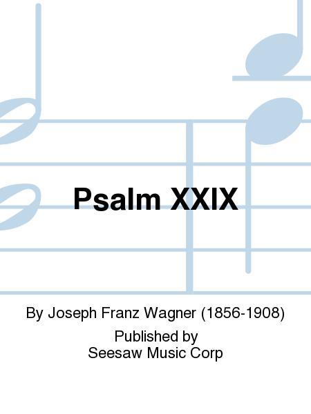 Psalm XXIX