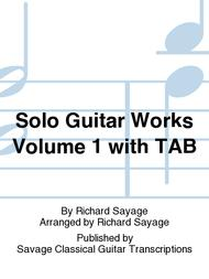 Solo Guitar Works Volume 1 with TAB