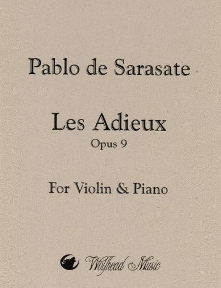 Les Adieux, op. 9