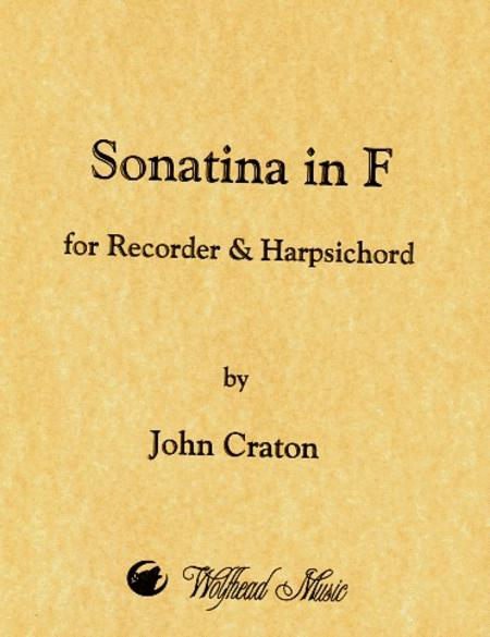 Sonatina in F for Recorder and Harpsichord