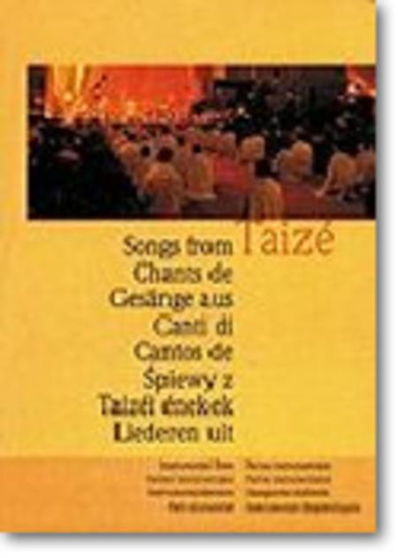 Chants de Taize / Songs from Taize - Guitar edition