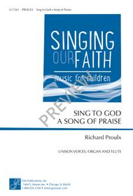 Sing to God a Song of Praise