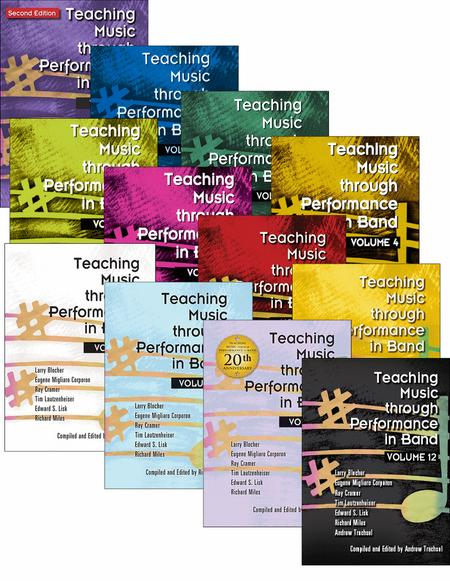 Teaching Music through Performance in Band - Books Only Bundle