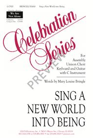 Sing a New World into Being