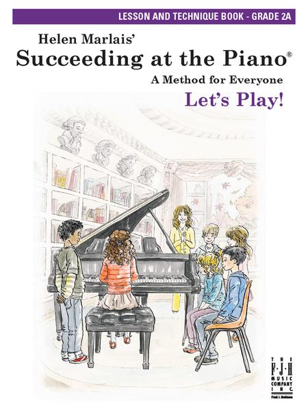 Succeeding at the Piano Lesson & Technique Book - Grade 2A (without CD)