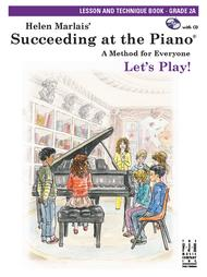 Succeeding at the Piano Lesson & Technique Book - Grade 2A (with CD)