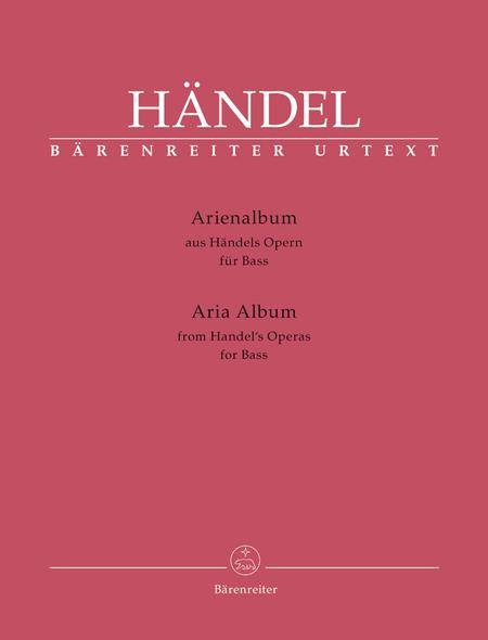 Arienalbum aus Handels Opern fur Bass