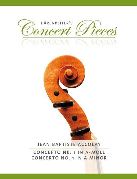 Concerto, No. 1 a minor