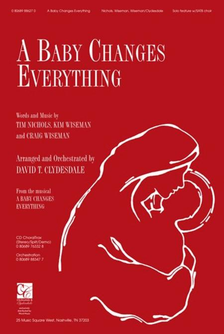 A Baby Changes Everything Sheet Music By David Clydesdale ...