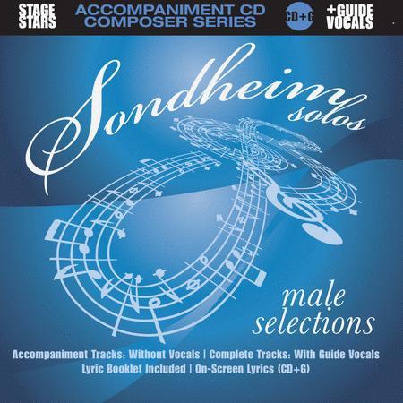 Sondheim Solos, Male Selections (accompaniment/karaoke CD)