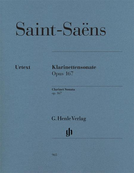 Clarinet Sonata op. 167