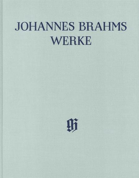 Johannes Brahms Works