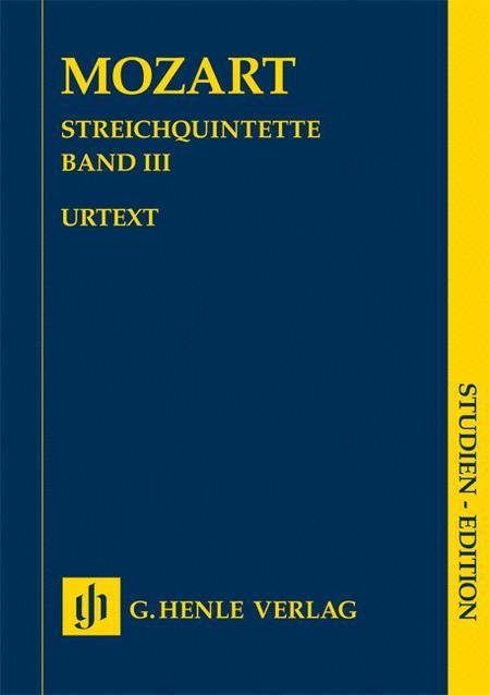 String Quintets - Volume III
