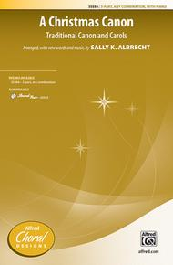 Christmas Canon.A Christmas Canon Sheet Music By Sally K Albrecht Sheet