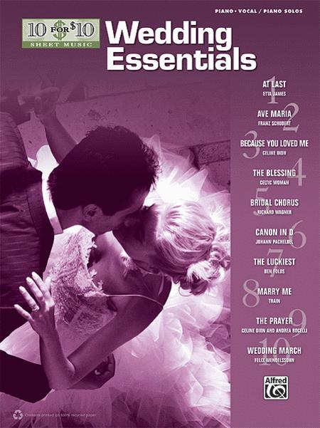 10 for 10 Sheet Music Wedding Essentials
