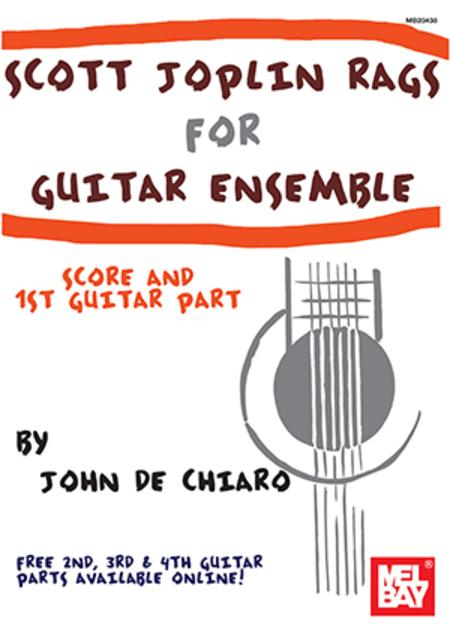 Scott Joplin Rags for Guitar Ensemble