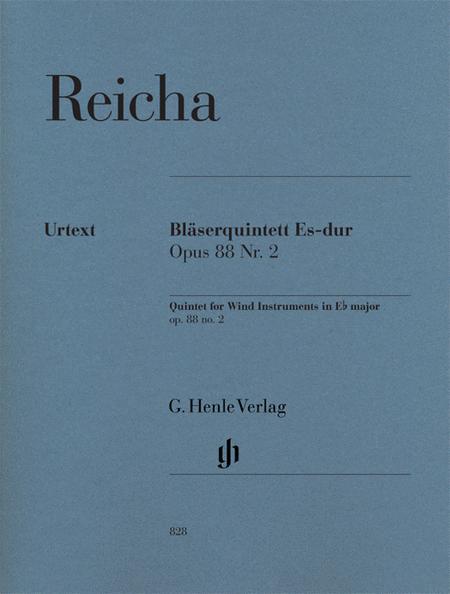 Quintet for Wind Instruments op. 88/2