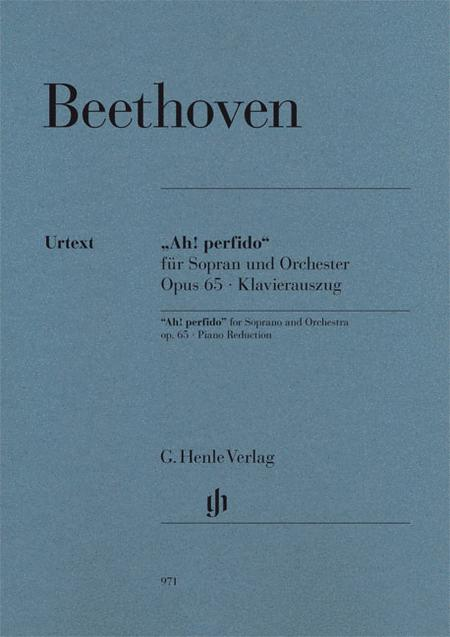 Ah! perfido Op. 65 for Soprano and Orchestra